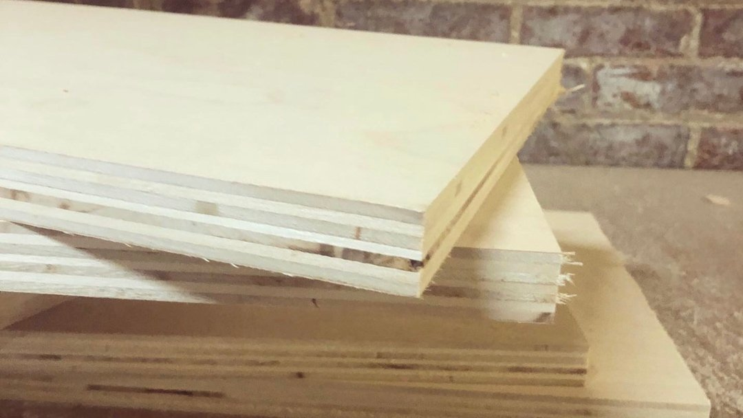 plywood no edge tape