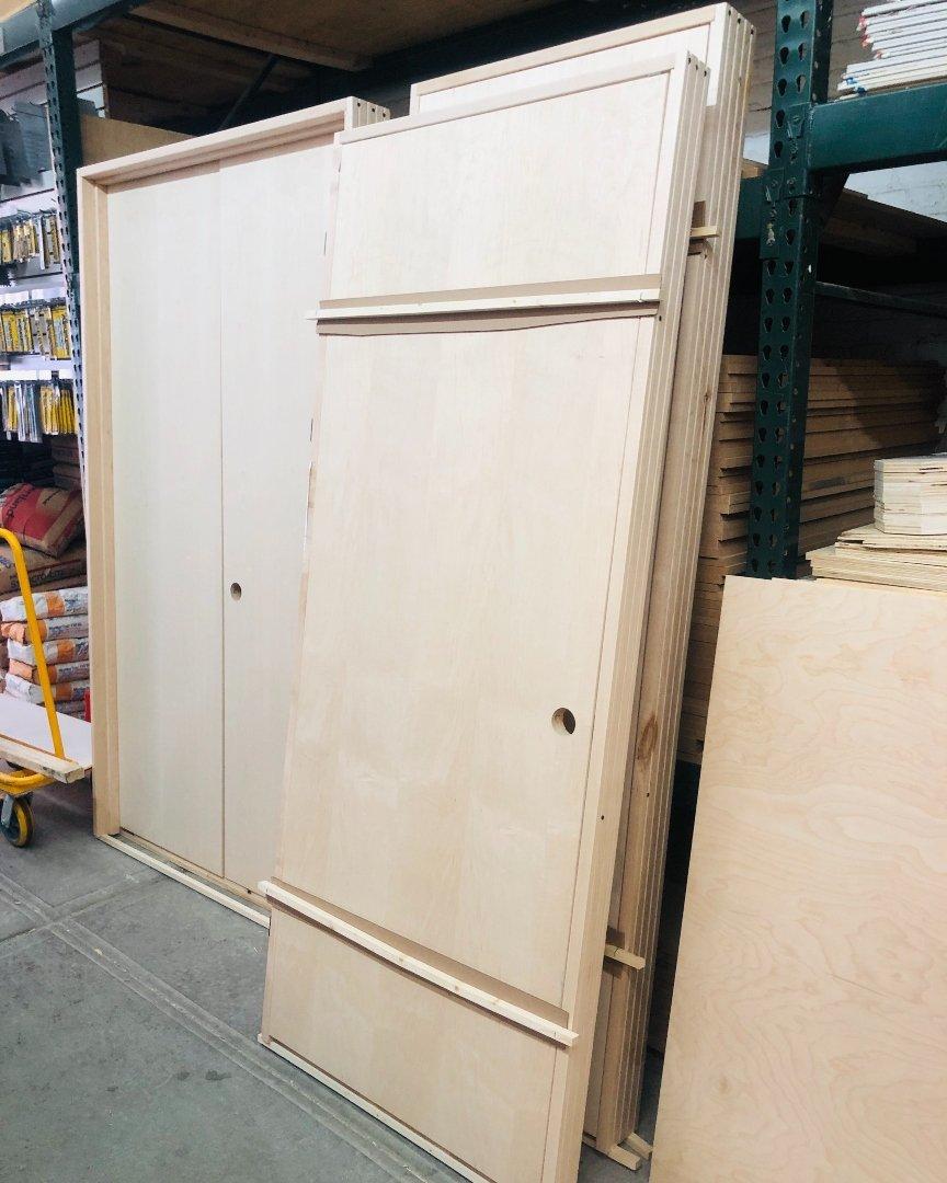 Pre Slab Doors
