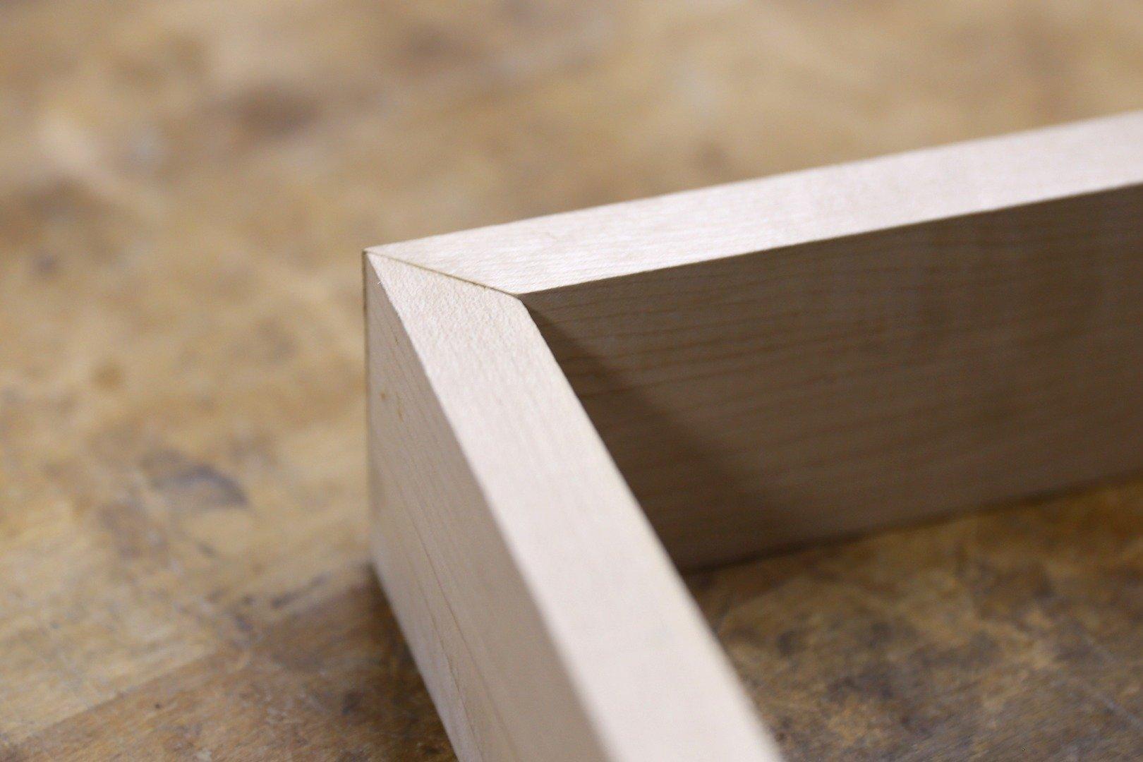 wood bevel cut