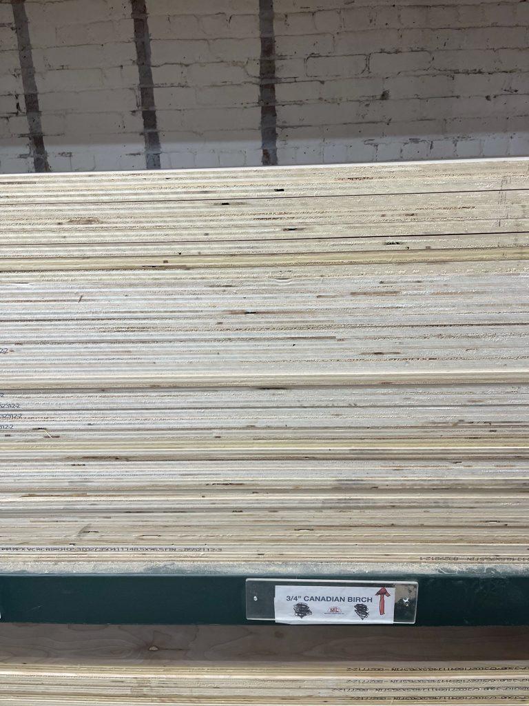 Canadian Birch Plywood